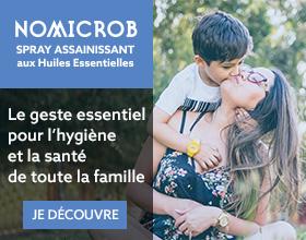 Nomicrob, le geste essentiel pour l'hygiène et la santé de toute la famille
