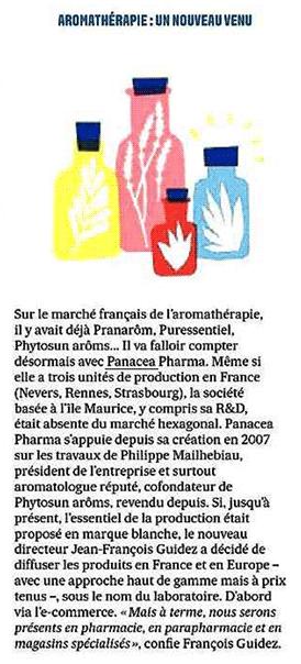 Aromathérapie : un nouveau venu