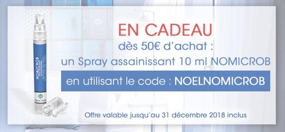 un spray nomicrob 10 ml offert des 50 euros